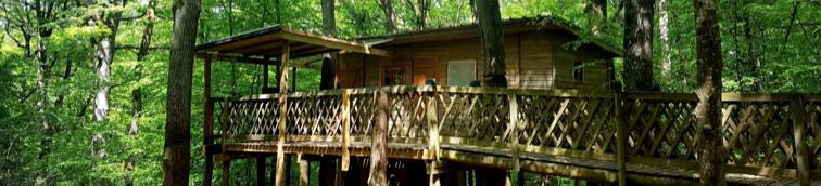 ma cabane dans les arbres au parc de loisirs tepacap toulouse