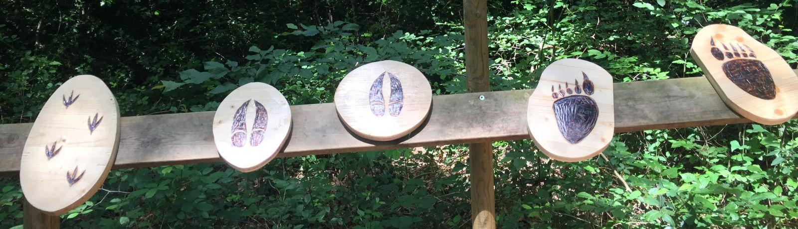 Sentier de découverte enfants - Tépacap Toulouse - Parc de Loisirs